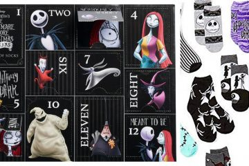 nightmare before christmas sock advent calendar
