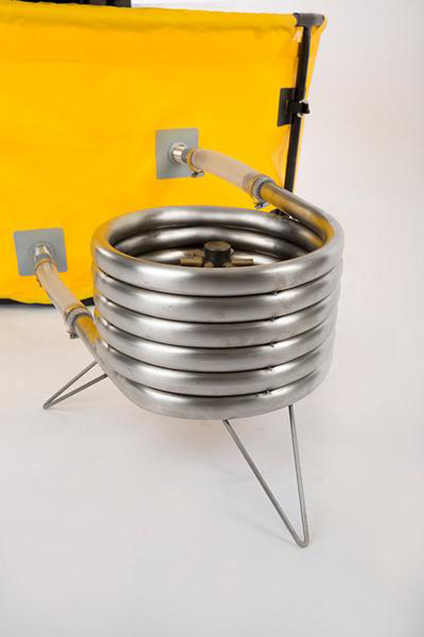 nomad collapsible camping hot tub heater coil