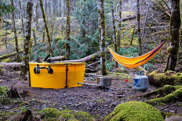 nomad camping outdoor