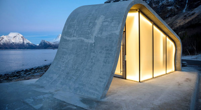 norway most beautiful public toilet frosted glass