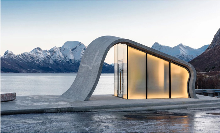 norway most beautiful public toilet uredd