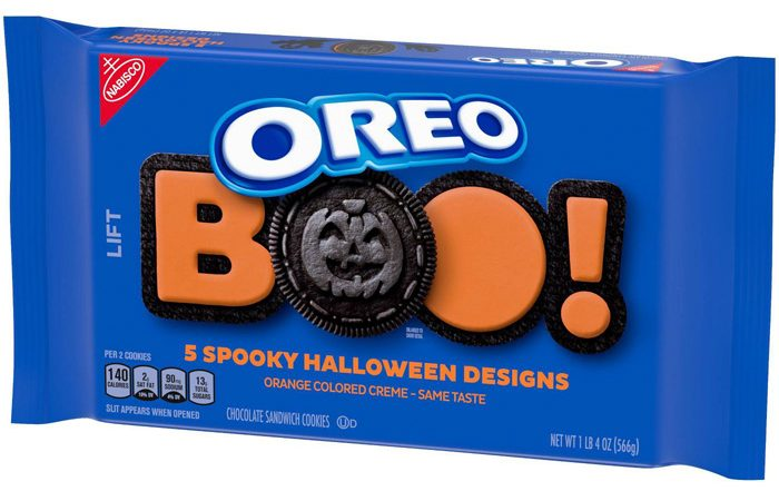 oreo boo halloween orange creme cookies