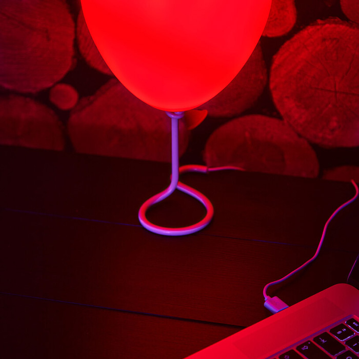 pennywise balloon lamp usb cable