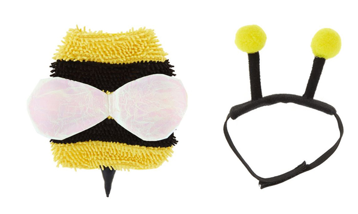 petsmart bee set hamster halloween costumes