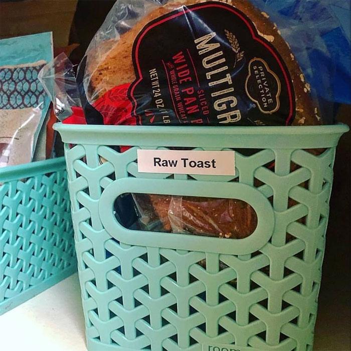raw toast sister label maker wedding gift