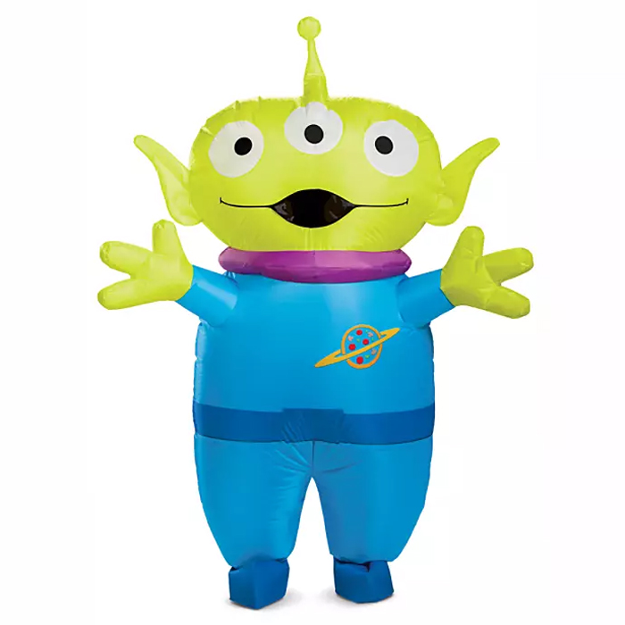 shopdisney inflatable toy story alien costume