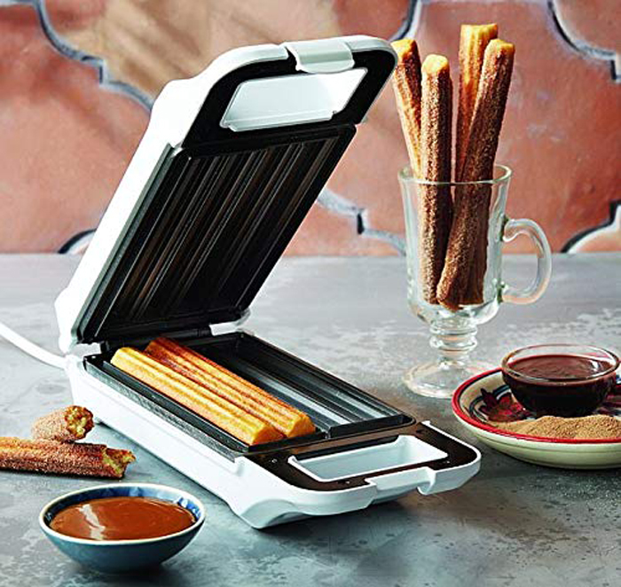 starblue churro maker no fry cooking