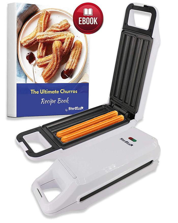 starblue churro maker with free recipe ebook