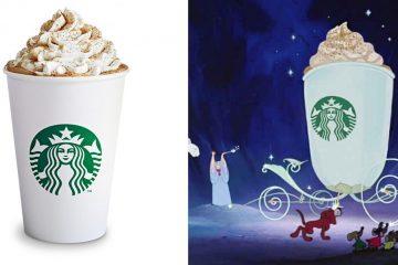starbucks Cinderella latte