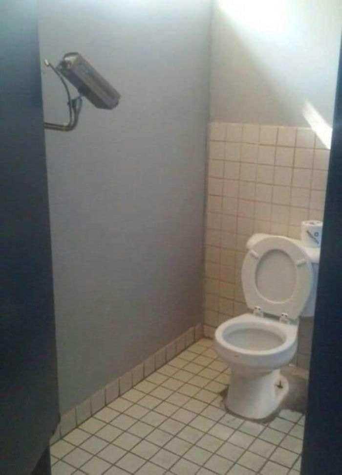 super secure toilet