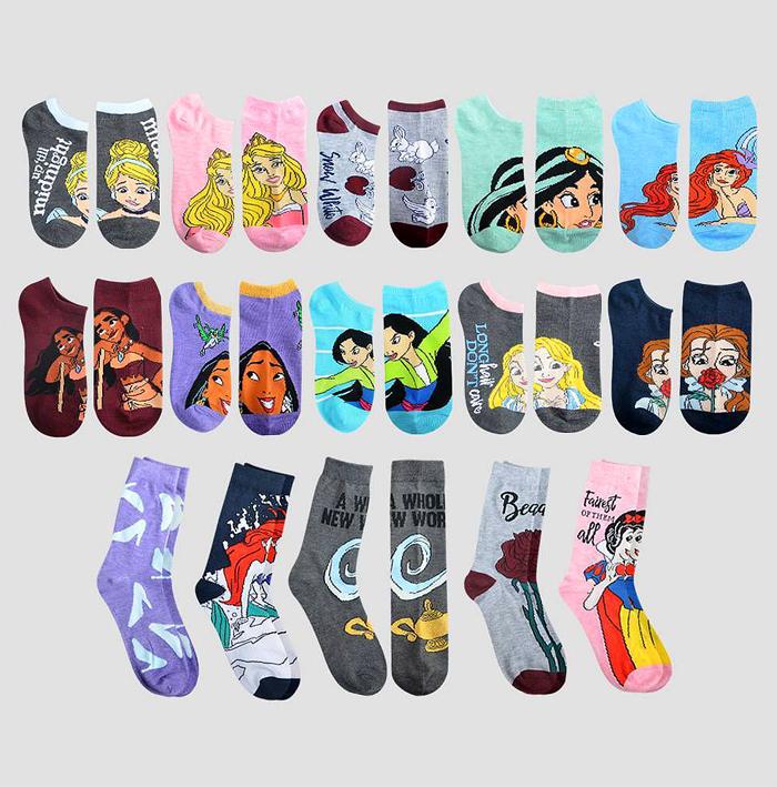 target disney princess sock advent calendar 15 pairs