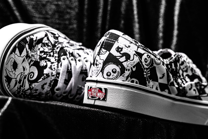 the nightmare before christmas vans collection authentic back