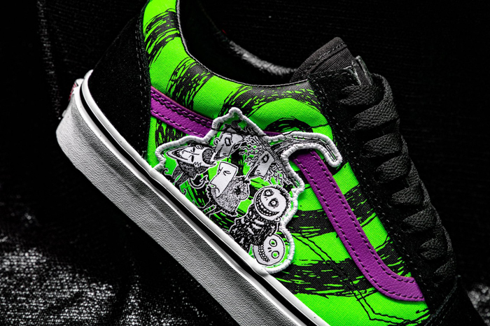 the nightmare before christmas vans collection lock shock barrel old skool