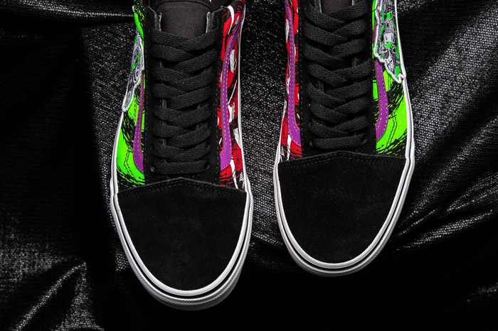 the nightmare before christmas vans collection old skool