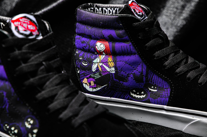 the nightmare before christmas vans collection sally sk8 hi