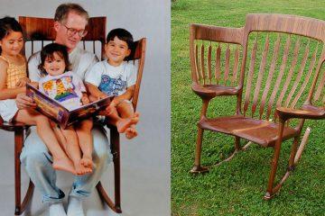 three seat chair