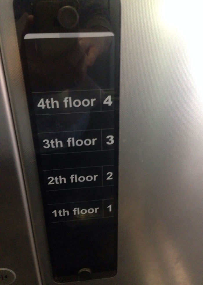 uncomfortable imperfections photos elevator buttons