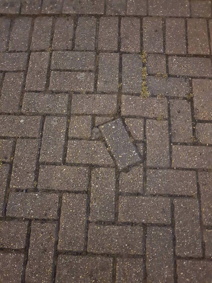 uncomfortable imperfections photos irregular pavement tile