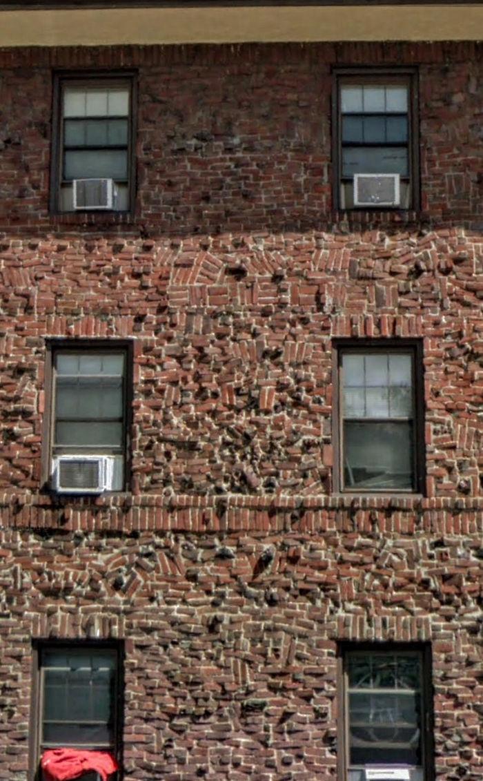 uncomfortable imperfections photos messy bricks