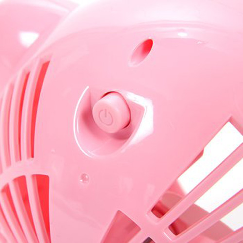 usb powered kirby fan power button