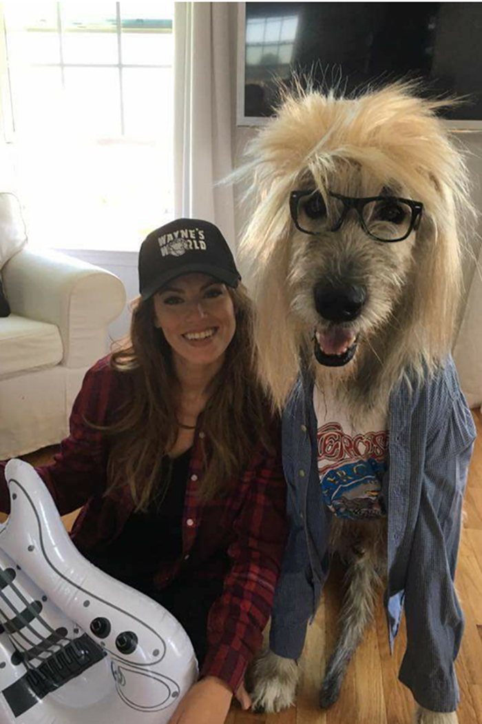 Wayne and Garth Dog Costume