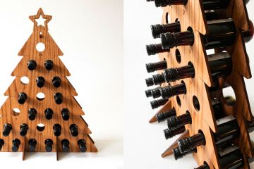 wine bottle calendar