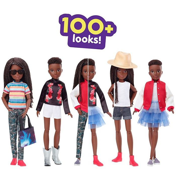 100+ Looks for Black Braided Haired Doll