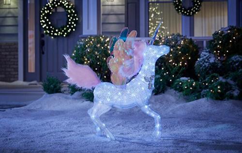 6-Foot Majestic Unicorn Decoration baby unicorn
