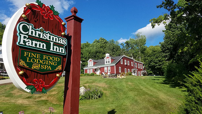 Christmas Farm Inn & Spa Signage