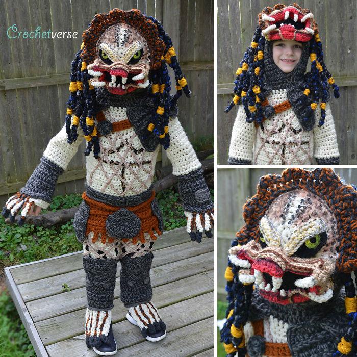 Crochet Predator Costume