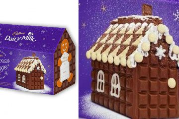 Dairy Milk Christmas Cottage Kit
