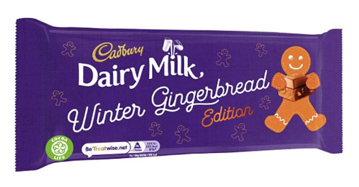 Dairy Milk Christmas Cottage Kit Winter Gingerbread Chocolate Bar