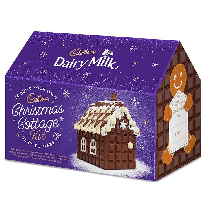 Dairy Milk Christmas Cottage Kit