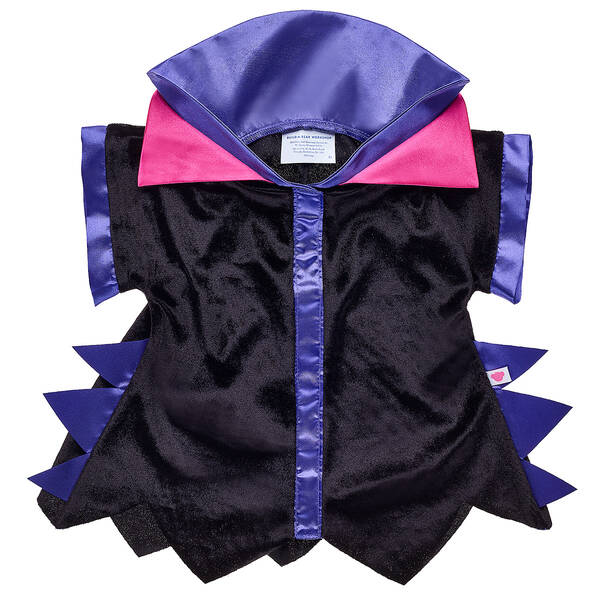 Disney Maleficent Black and Purple Robe by Build-A-Bear