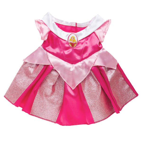 Disney Princess Aurora Pink Dress by Build-A-Bear