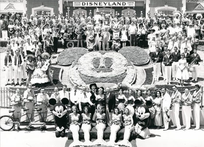 Disneyland Employees in 1955