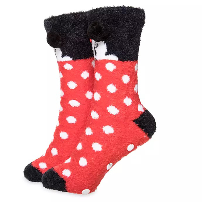 Disney's Mug & Sock Sets - Minnie Mouse Polka Dot Socks