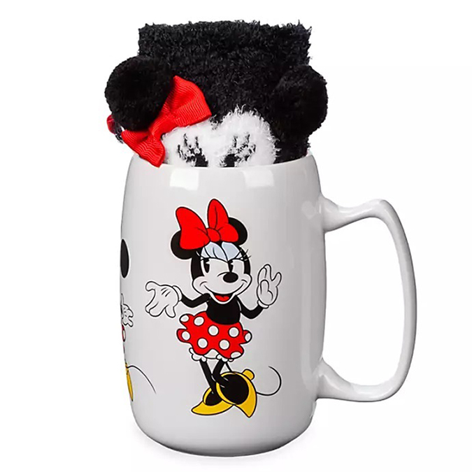 Disney's Mug & Sock Minnie Mouse