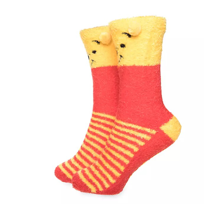 Disney's Mug & Sock Sets Winnie The Pooh Striped Socks