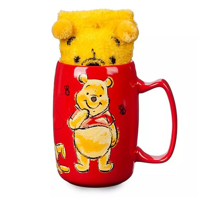 Disney's Sock and Mug Sets Winnie The Pooh