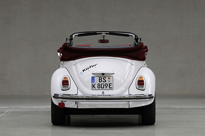 Electric Volkswagen Beetle Back