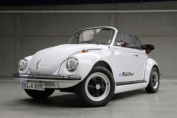 Electric Volkswagen Beetle Front