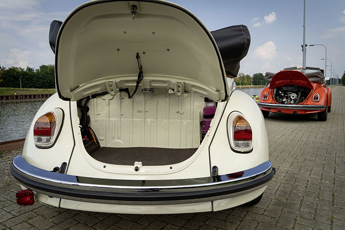 Electric Volkswagen Beetle Trunk