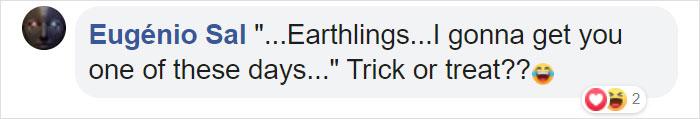 Eugenio Sal Facebook Comment jack-o'lLantern sun