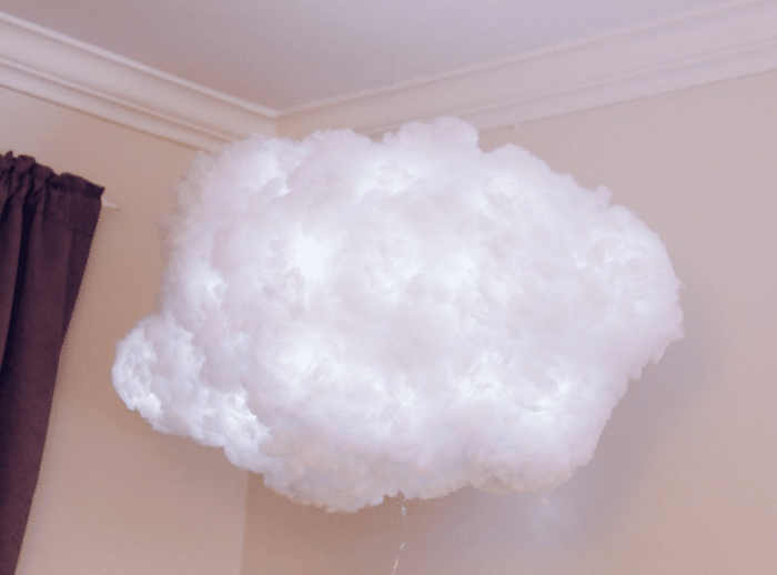 Floating Cloud Light from the Ceiling