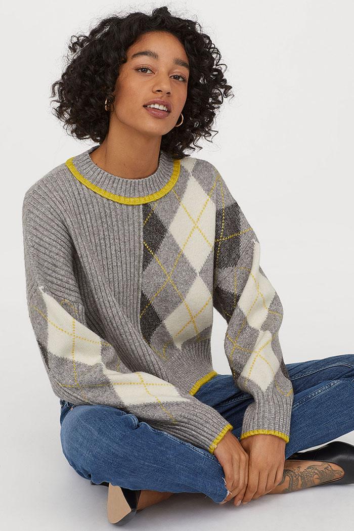 H&M Jacquard Knit Jumper