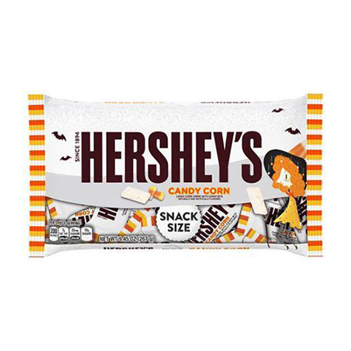 Hersheys Candy Corn Bar Snack Size Bag