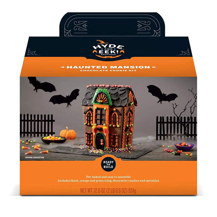Hyde and Eek Haunted Mansion Chocolate Cookie Kit