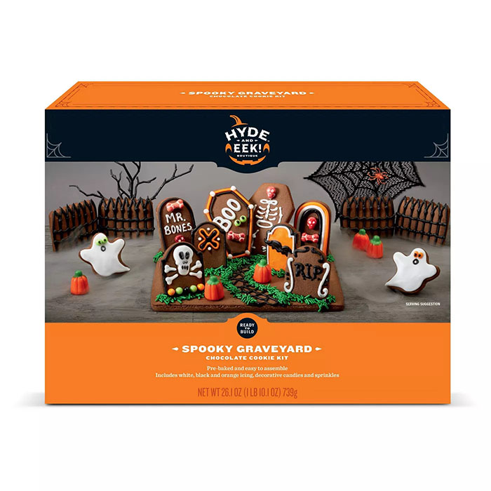 Hyde and Eek Spooky Graveyard Chocolate Cookie Kit