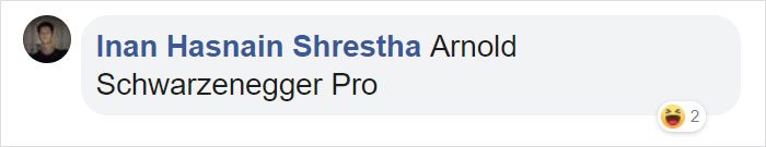 Inan Hasnain Shrestha Facebook Comment